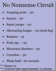 Workouts! At Home - Cardio - No Nonsense - Jump Rope - 5 x 50 work healhy-diets