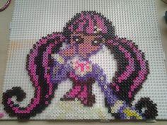 Draculaura  Monster High Hama perler beads by HamaBeadsPonies on deviantART