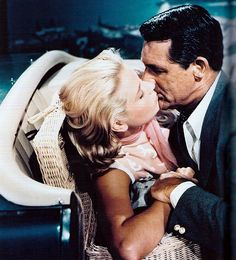 Grace Kelly and Cary Grant.To Catch A Thief 1955 Cary Grant - John Robie Grace Kelly - Frances Stevens
