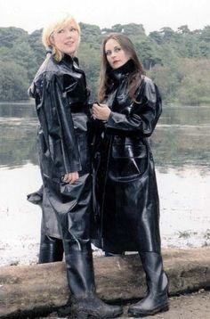 Raincoats For Women Rain Coats Black Raincoat, Mens Raincoat, Raincoat Jacket, Pvc Raincoat, Plastic Raincoat, Spice Girls, Raincoats For Women, Jackets For Women, Rain