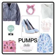 """Pumps It Up"" by marianti on Polyvore featuring Giorgio Grati, Chicwish, Piers Atkinson, Miu Miu, Acne Studios, Moschino, Color, goout and pumpsitup"