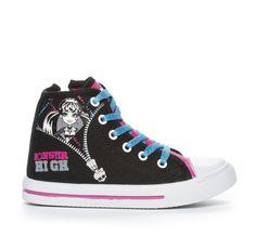 Din Sko Kängor och Boots Textilkänga Textil Svart Converse Chuck Taylor High, Converse High, High Top Sneakers, Chuck Taylors High Top, Monster High, High Tops, Boots, Fashion, Crotch Boots