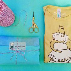 Cat Onesie by boygirlparty: http://shop.boygirlparty.com/products/cat-onesie-organic-baby-clothing
