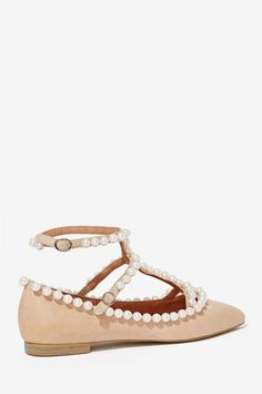 Jeffrey Campbell Gaby Leather Flats