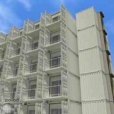 Blocks & Bonds: Large Scale | Zigloo Custom Container Home Design