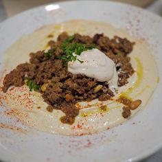 Beef Hummus  Oren's Hummus Shop