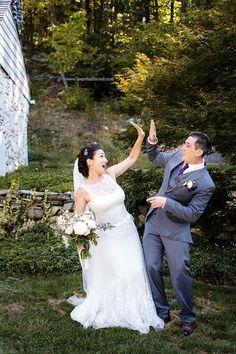 Our Garden Wedding #tonyward #kleinfeld #gardenwedding #countrywedding
