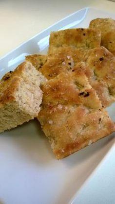 Rouheinen Foccacia Cornbread, Ethnic Recipes, Food, Millet Bread, Eten, Meals, Corn Bread, Diet