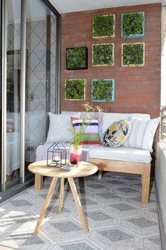 Balcony Bar, Small Balcony Decor, Balcony Plants, Balcony Design, Apartment Balcony Garden, Apartment Balconies, Outdoor Sofa, Outdoor Furniture Sets, Outdoor Decor