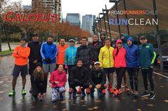 La lluvia no es excusa para no entrenar #RunClean Calorub auspiciador oficial Road Runners Chile
