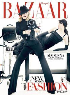 Portada de Bazaar con Madonna