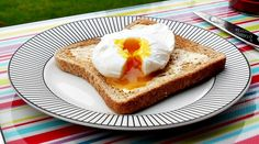 Perfect Poached Eggs on Toast