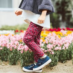 Pin Pin French Terry Cargos | Pin pin means good health in Japanese. With a playful print and perfectly useful pockets, these pants are packed with a healthy dose of style.