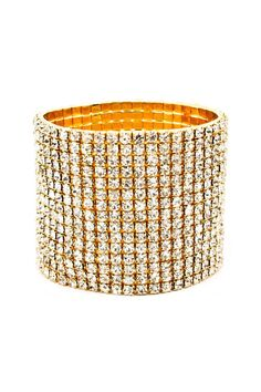 15 Row Crystal Bracelet on Emma Stine Limited