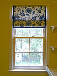 Initially, I planned to replace the aluminum blind in the laundry room with bamboo shade ( here is the link for anyone who is looking for bamboo shade www.paylessdecor.com). But then I wanted somet…