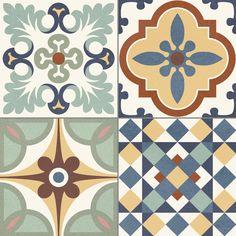 Плитка декор Gaya Fores Heritage Mix 33,15x33,15 см