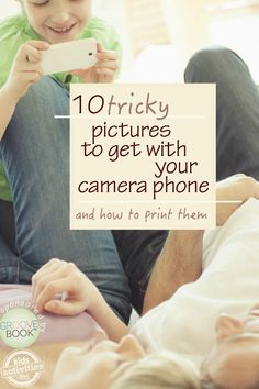 Get great photos with your camera phone and learn how to get them printed quick and easy.