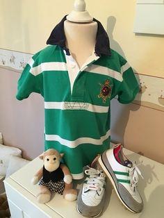 Mein Orig. Ralph Lauren Polo Shirt Gr.4 Jahre / 104 cm von Ralph Lauren! Größe 104 für 25,00 €. Schau´s dir an: http://www.mamikreisel.de/kleidung-fur-jungs/poloshirts/30732507-orig-ralph-lauren-polo-shirt-gr4-jahre-104-cm.
