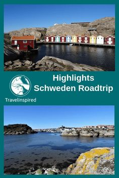Sweden Road Trip: Tips & Highlights in the South Travelinspired - Travel report Sweden Round trip with tips, highlights and route, Sweden road trip from Gothenburg v - Camping Holiday, Holiday Travel, Places To Travel, Places To See, Travel Destinations, Sweden Holidays, Gothenburg Archipelago, Sweeden Travel, Sweden Map