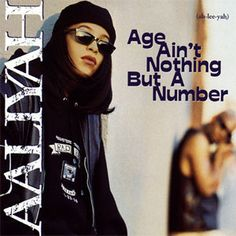 "Aaliyah ""Age Ain't Nothing But a Number"" album cover"