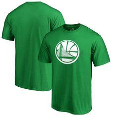 Golden State Warriors Fanatics Branded Big & Tall St. Patrick's Day White Logo T-Shirt - Green