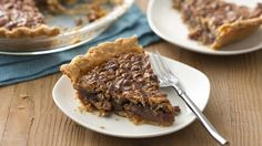 A little extra salt and brown sugar give this pecan pie a rich caramel flavor.