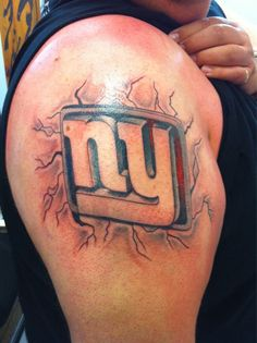 27 Best New York Giants Tattoos Images Tattoo Images New York