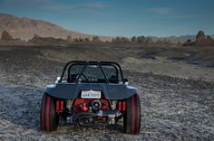 Check out Derek Jenkins' 1970 Meyers Manx Buggy complete with custom Manx Chassis tube frame and roll-bar powdercoated black, custom Bilstein Racing shocks, VW torsion bar ball-joint front-end, replica 550 Spyder seats and more. - Eurotuner