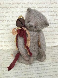 Bear in vintage style. #