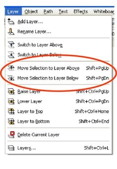 Creating layered svg files using Inkscape