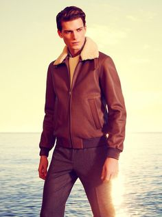 Wilhelmina Models: Nikola Jovanovic is the altest face of Facconable's Fall/Winter 2014 campaign. Credit: Photography by Alexandre Tabaste. - See more at: wilhelminanews.com