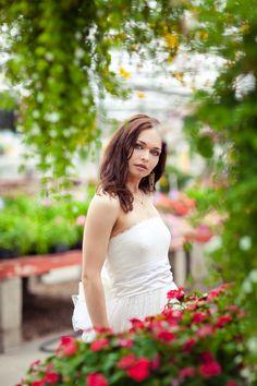 Greenhouse photo shoot