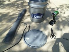 How To: Natural Gardening: 5 Gallon Bucket Drip Irrigation