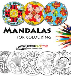 Mandalas for colouring