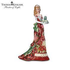 Thomas Kinkade Figurines Collection | Enlarge Image Thomas Kinkade Heirloom Porcelain Figurine Collection ...
