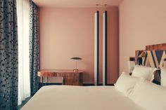 Dimore Studio have designed each of the hotel's 26 rooms and suites with their own individual style and colour scheme.