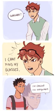 "OH MY GOD OIKAWA TOORU IS COPYING ME, HOW COOL IS THAT || hahahahah Iwa-chan is just like ""why the hell we're friends??"" Poor guy"