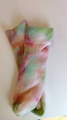 Check out this item in my Etsy shop https://www.etsy.com/listing/520959264/tie-dye-pink-lemonade-socks-ready-to