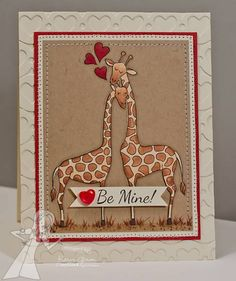 Be Mine! by karengiron - Cards and Paper Crafts at Splitcoaststampers