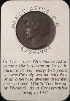 """""""I married beneath me. All women do."""" Nancy Astor, the first woman to sit as a Member of Parliament in the House of Commons took her seat #onthisday (December 1st) in 1919. Astor, known for her wit, frequently clashed with Winston Churchill.  (As you may or may not know, the Astors were instrumental in preserving and improving Hever Castle, home to Elizabeth I's mother, Anne Boleyn, and her family.) Member Of Parliament, House Of Commons, Elizabeth I, Anne Boleyn, Queen Anne, December 1st, Winston Churchill, Instrumental"""