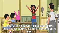 Linda is one of the best cartoon moms. Hot, smart, funny, just awesome.