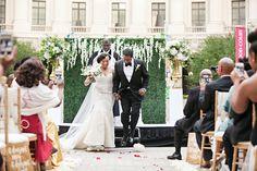 Rochanda and Willie's Modern Chic Wedding in Washington DC Jumping The Broom, Chic Wedding, Washington Dc, Cocoa, Brides, Wedding Dresses, Modern, Fashion, Bride Dresses