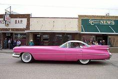 custom '59 Cadillac 2-seater