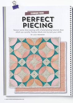 Charm About You: Trenton block mini quilt and a winner