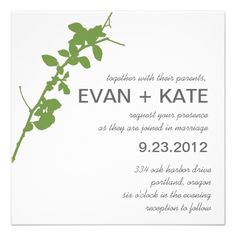 ShoppingModern Green Branch Wedding InvitationYes I can say you are on right site we just collected best shopping store that have