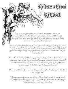 Relaxation-Ritual