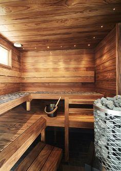 Modern Saunas, Spas, Sauna Wellness, Piscina Spa, Sauna Design, Finnish Sauna, Spa Rooms, Sauna Room, Clear Lake