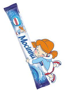 Criação do personagem Mocinha Leite Moça - Nestlé.