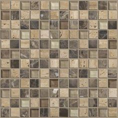 Found it at Wayfair - Mixed Up Mosaic Stone Accent Tile in River Bed Doll House Wallpaper, Print Wallpaper, Stone Mosaic, Mosaic Glass, Mosaic Wall, Wall Tiles, Backsplash Tile, Decoupage, Glitter Houses