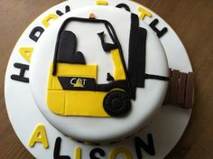 Forklift Cake